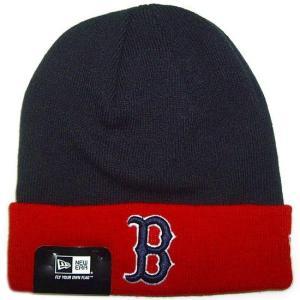 NEW ERA (ニューエラ) MLB ベーシック ニットキャップ (ボストン・レッドソックス)|g2sports