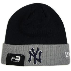 NEW ERA (ニューエラ) MLB ベーシック ニットキャップ (ニューヨーク・ヤンキース)|g2sports