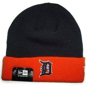 NEW ERA (ニューエラ) MLB ベーシック ニットキャップ (デトロイト・タイガース)|g2sports