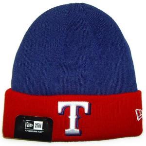 NEW ERA (ニューエラ) MLB ベーシック ニットキャップ (テキサス・レンジャーズ)|g2sports