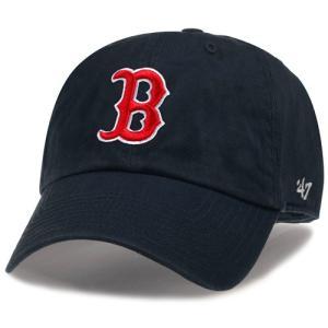 '47 Brand MLB カジュアルキャップ (CLEAN UP CAP/クリーンナップ キャップ) ボストン・レッドソックス|g2sports