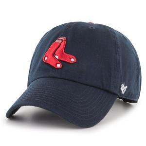 '47 Brand MLB カジュアルキャップ (CLEAN UP CAP/クリーンナップ キャップ) ボストン・レッドソックス ※オルタネイトバージョン|g2sports