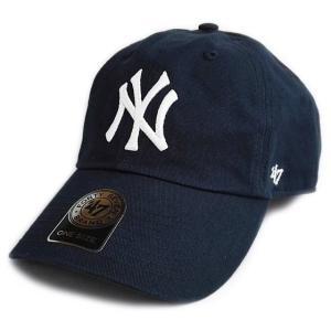 【 アウトレット品 】'47 Brand MLB カジュアルキャップ (CLEAN UP CAP/クリーンナップ キャップ) ニューヨーク・ヤンキース ※サイズ小さめ|g2sports