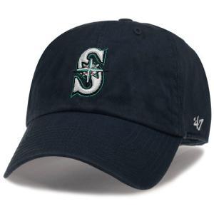 '47 Brand MLB カジュアルキャップ (CLEAN UP CAP/クリーンナップ キャップ) シアトル・マリナーズ|g2sports