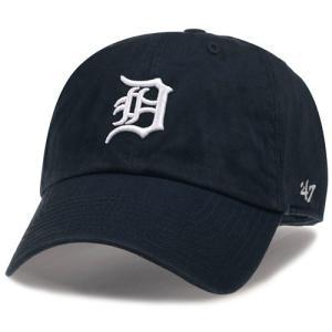 '47 Brand MLB カジュアルキャップ (CLEAN UP CAP/クリーンナップ キャップ) デトロイト・タイガース|g2sports