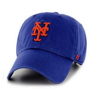 '47 Brand MLB カジュアルキャップ (CLEAN UP CAP/クリーンナップ キャップ) ニューヨーク・メッツ|g2sports