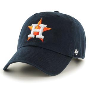 '47 Brand MLB カジュアルキャップ (CLEAN UP CAP/クリーンナップ キャップ) ヒューストン・アストロズ|g2sports