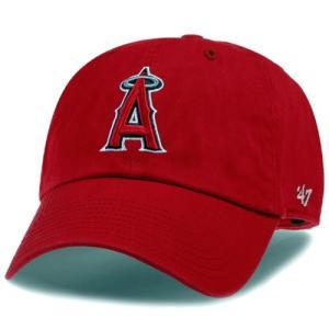 '47 Brand MLB カジュアルキャップ (CLEAN UP CAP/クリーンナップ キャップ) ロサンゼルス・エンゼルス|g2sports