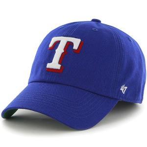 '47 Brand MLB カジュアルキャップ (FRANCHISE CAP/フランチャイズ キャップ) テキサス・レンジャーズ ※サイズあり|g2sports