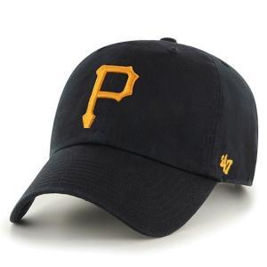 '47 Brand MLB カジュアルキャップ (CLEAN UP CAP/クリーンナップ キャップ) ピッツバーグ・パイレーツ|g2sports