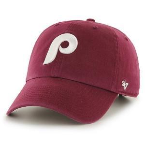 '47 Brand MLB カジュアルキャップ (CLEAN UP CAP/クリーンナップ キャップ) フィラデルフィア・フィリーズ ※クーパーズタウンバージョン|g2sports