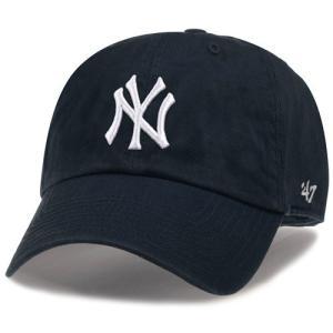 '47 Brand 子供用 (キッズ〜ユース用) MLB カジュアルキャップ (CLEAN UP CAP/クリーンナップ キャップ) ニューヨーク・ヤンキース|g2sports