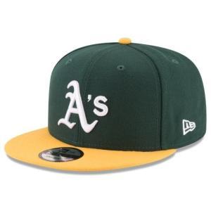 NEW ERA (ニューエラ) MLBフラットバイザー/スナップバックキャップ (9FIFTY 950 CAP) オークランド・アスレチックス|g2sports