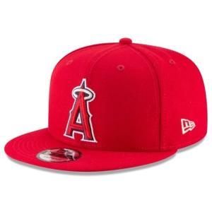 NEW ERA (ニューエラ) MLBフラットバイザー/スナップバックキャップ (9FIFTY 950 CAP) ロサンゼルス・エンゼルス|g2sports