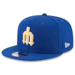 NEW ERA (ニューエラ) MLBフラットバイザー/スナップバックキャップ (9FIFTY 950 CAP) シアトル・マリナーズ ※クーパーズタウンバージョン|g2sports