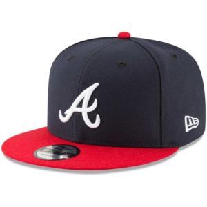 NEW ERA (ニューエラ) MLBフラットバイザー/スナップバックキャップ (9FIFTY 950 CAP) アトランタ・ブレーブス|g2sports