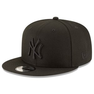 NEW ERA (ニューエラ) MLBフラットバイザー/スナップバックキャップ (9FIFTY 950 CAP) ニューヨーク・ヤンキース ※ブラック オン ブラックバージョン g2sports