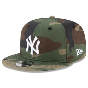 NEW ERA (ニューエラ) MLBフラットバイザー/スナップバックキャップ (9FIFTY 950 CAP) ニューヨーク・ヤンキース ※迷彩バージョン g2sports