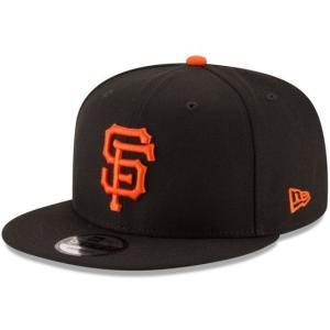 NEW ERA (ニューエラ) MLBフラットバイザー/スナップバックキャップ (9FIFTY 950 CAP) サンフランシスコ・ジャイアンツ|g2sports