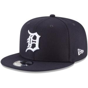 NEW ERA (ニューエラ) MLBフラットバイザー/スナップバックキャップ (9FIFTY 950 CAP) デトロイト・タイガース|g2sports