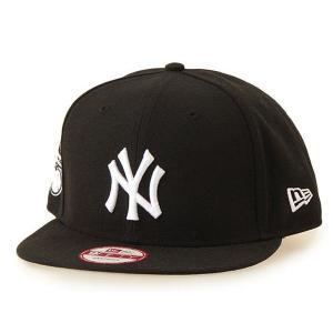 NEW ERA (ニューエラ) MLBスナップバックキャップ (BAYCIK 9FIFTY 950 CAP) ニューヨーク・ヤンキース ※ブラックバージョン|g2sports