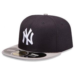 NEW ERA(ニューエラ)オーセンティック ダイアモンドエラ MLBキャップ(ニューヨーク・ヤンキース) ※ロード用|g2sports