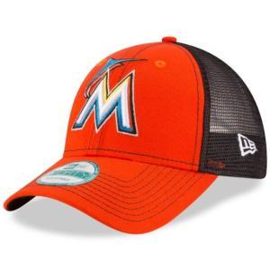 NEW ERA (ニューエラ) MLBメッシュバックキャップ (9FORTY 940 MLB MESH CAP) マイアミ・マーリンズ g2sports