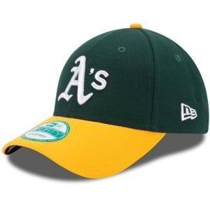 NEW ERA (ニューエラ) 子供用 (キッズ〜ユース用) MLBレプリカキャップ (The League 9FORTY 940 MLB Youth Cap) オークランド・アスレチックス|g2sports
