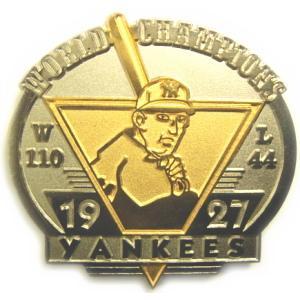 ニューヨーク・ヤンキース 1927年ワールドチャンピオン クラッシックレプリカ MLB ピンバッチ(ピン)|g2sports