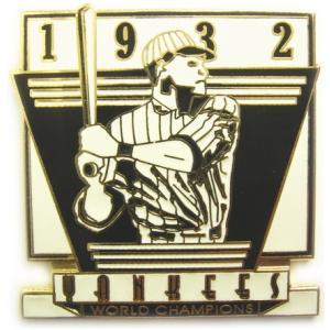 ニューヨーク・ヤンキース 1932年ワールドチャンピオン クラッシックレプリカ MLB ピンバッチ(ピン)|g2sports
