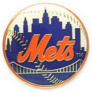 ニューヨーク・メッツ MLB ピンバッチ(ピン)|g2sports