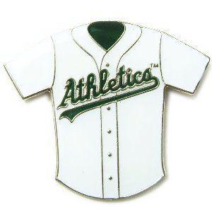 オークランド・アスレチックス MLB ユニフォーム ピンバッチ(ピン)|g2sports