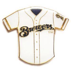 ミルウォーキー・ブリュワーズ MLB ユニフォーム ピンバッチ(ピン)|g2sports