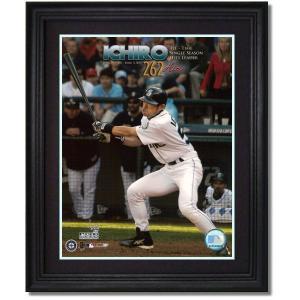 イチロー シーズン最多安打記録達成記念 MLBフォト(262安打目)|g2sports
