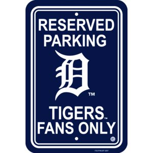 デトロイト・タイガース MLB パーキングサイン|g2sports