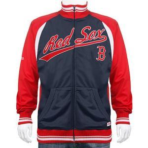 ボストン・レッドソックス MLB トラックジャケット(ジップアップ ジャージ) Stitches Athletic製|g2sports