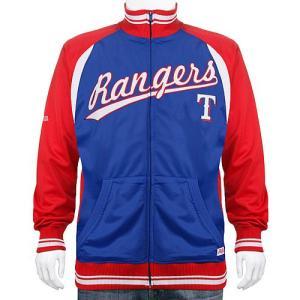 テキサス・レンジャーズ MLB トラックジャケット(ジップアップ ジャージ) Stitches Athletic製|g2sports