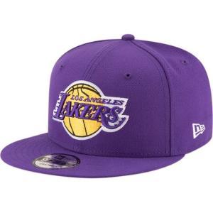 NEW ERA (ニューエラ) NBAフラットバイザー/スナップバックキャップ (9FIFTY 950 CAP) ロサンゼルス・レイカーズ|g2sports