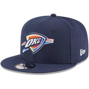NEW ERA (ニューエラ) NBAフラットバイザー/スナップバックキャップ (9FIFTY 950 CAP) オクラホマシティ・サンダー|g2sports