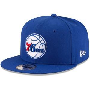 NEW ERA (ニューエラ) NBAフラットバイザー/スナップバックキャップ (9FIFTY 950 CAP) フィラデルフィア・76ers|g2sports