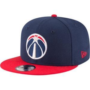 NEW ERA (ニューエラ) NBAフラットバイザー/スナップバックキャップ (9FIFTY 950 CAP) ワシントン・ウィザーズ ※ツートーンバージョン