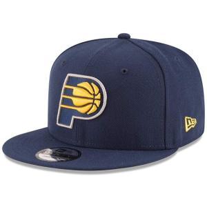 NEW ERA (ニューエラ) NBAフラットバイザー/スナップバックキャップ (9FIFTY 950 CAP) インディアナ・ペイサーズ|g2sports