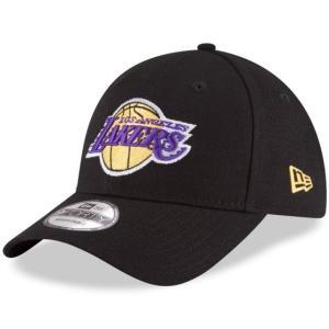 NEW ERA (ニューエラ) NBAキャップ (The League 9FORTY 940 NBA Cap) ロサンゼルス・レイカーズ ※ブラックバージョン|g2sports