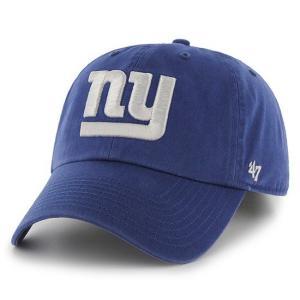 '47 Brand NFL カジュアルキャップ (CLEAN UP CAP/クリーンナップ キャップ) ニューヨーク・ジャイアンツ
