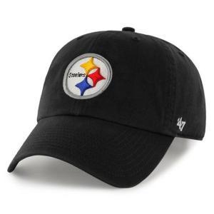 '47 Brand NFL カジュアルキャップ (CLEAN UP CAP/クリーンナップ キャップ) ピッツバーグ・スティーラーズ