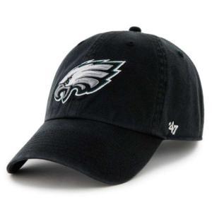 '47 Brand NFL カジュアルキャップ (CLEAN UP CAP/クリーンナップ キャップ) フィラデルフィア・イーグルス