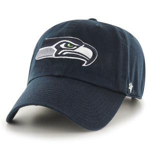 【数量限定ディスカウント!】'47 Brand NFL カジュアルキャップ (CLEAN UP CAP/クリーンナップ キャップ) シアトル・シーホークス