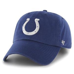 '47 Brand NFL カジュアルキャップ (CLEAN UP CAP/クリーンナップ キャップ) インディアナポリス・コルツ|g2sports