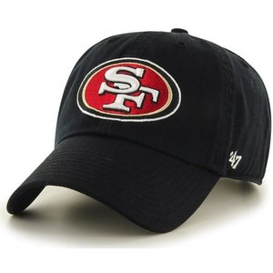 '47 Brand NFL カジュアルキャップ (CLEAN UP CAP/クリーンナップ キャップ) サンフランシスコ・49ers