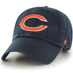 '47 Brand NFL カジュアルキャップ (CLEAN UP CAP/クリーンナップ キャップ) シカゴ・ベアーズ